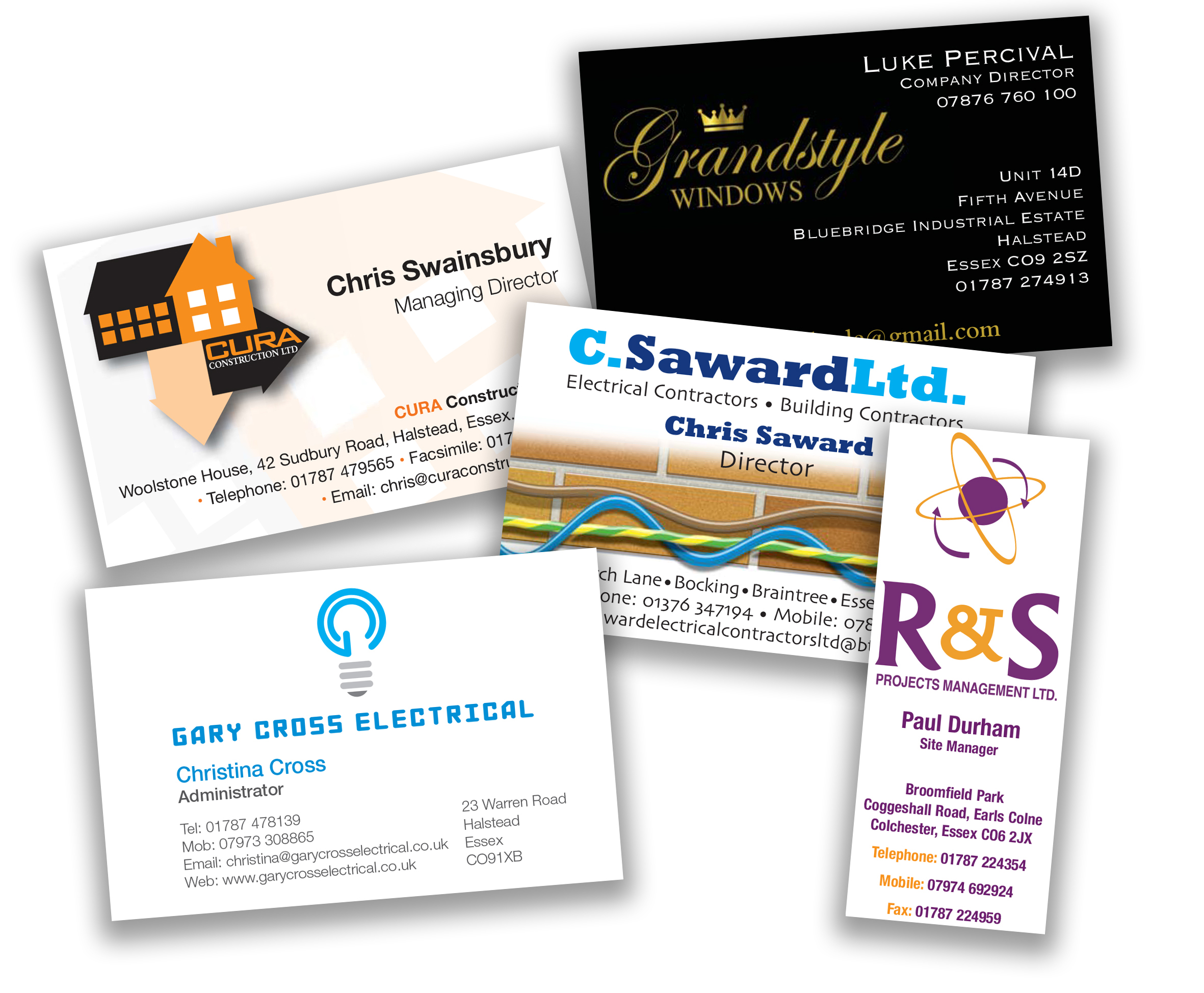 Business card printing and design fm design print contact us for your free no obligation business card quotation reheart Images